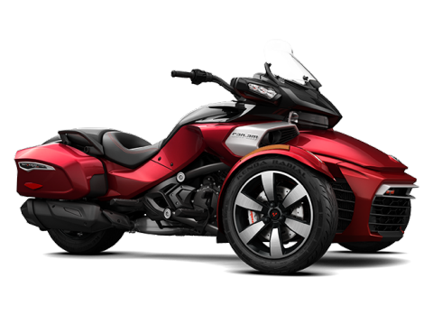 трицикл Spyder F3-T Intense Red
