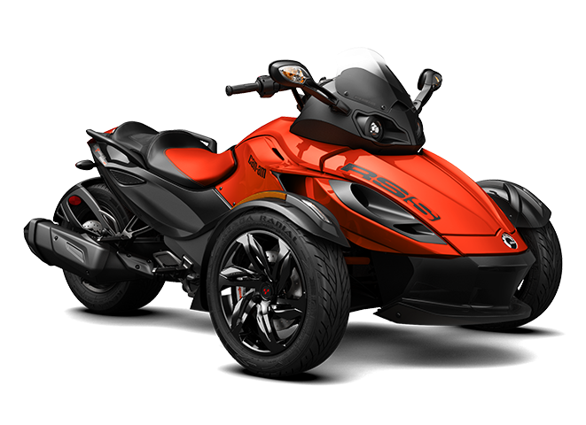 родстер Spyder RS-S Magma Red