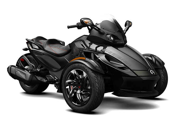 трайк Spyder RS-S Steel Black Metallic