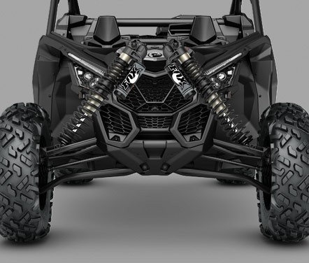 амортизатори FOX 2.5 PODIUM RC2 Piggyback мотовсюдиходу Maverick X3 X DS