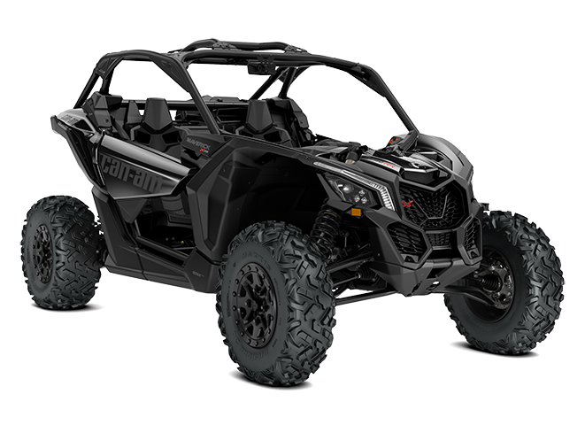 мотовсюдихід Can-Am Maverick x-ds turbo RR чорного кольору