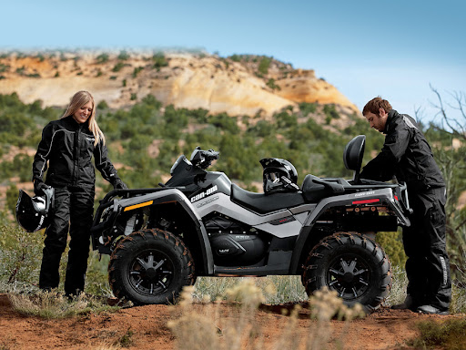 2-местный квадроцикл can-am outlander max xt 650